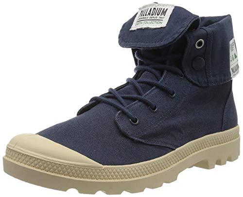 Palladium Herren BGY Organic U Hohe Sneaker, Blau (Mood Indigo T02), 46 EU