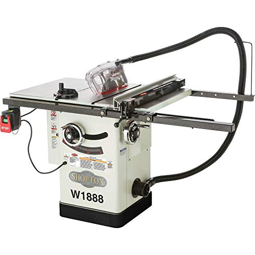 Shop Fox W1888 10' Hybrid Table Saw With Riving Knife