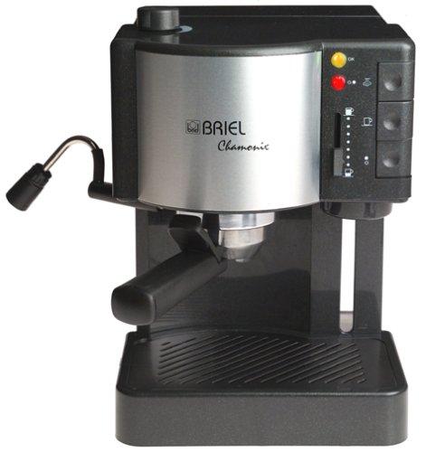 Review Of Briel ES35AF Chamonix Pump Espresso Machine With Auto Espresso Flow