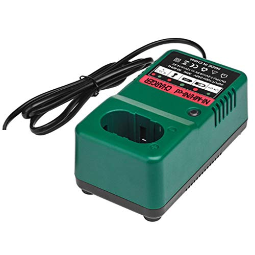 DIDILI Adatto per Caricabatterie Rapido al Nichel-Cromo 12V 9.6V 7.2V 14.4V 18V 30W Caricabatteria al Litio-Spina Europea