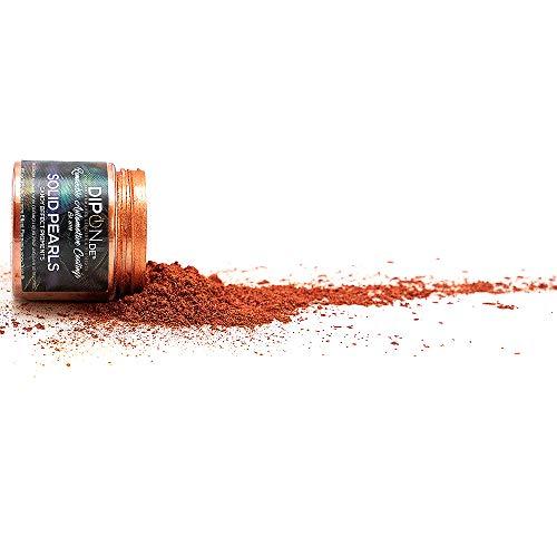 Epoxidharz Farbpigmente Rose Copper Kupfer Pearl für Giessharz Beton Seifenfarbe Farbpulver für Nail Art UV Gel Autolack Flüssiggummi mit Metallic Perlglanz Effekt Schimmer Pulver Pigmente (25 Gramm)