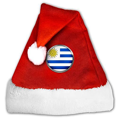 Gorro de Navidad Uruguay, gorro de Papá Noel, gracioso, para Navidad, fiesta, decoración M