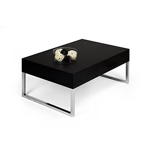 Mobilifiver Couchtisch, Evo XL, Esche schwarz, 90 x 60 x 40 cm
