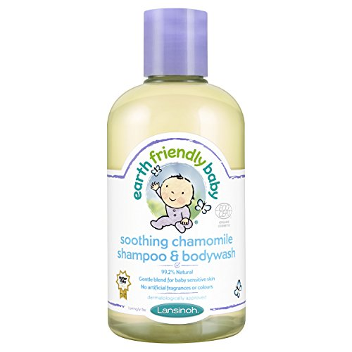 Earth Friendly Baby Kinder Shampoo & Pflegedusche Beruhigende Kamille Kids 250 ml