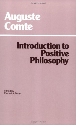 Introduction to Positive Philosophy (Hackett Classics)