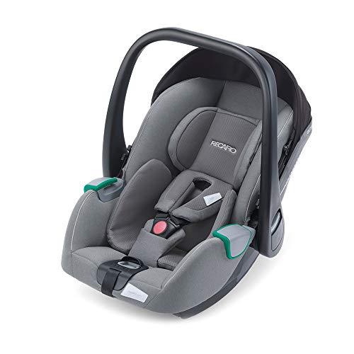 RECARO Kids, Babyschale Avan, i-Size 40-83 cm, Babyschale 0-13 kg, Kompatibel mit der Avan/Kio Base (i-Size), Verwendung mit Kinderwagen, Einfache Installation, Hohe Sicherheit, Prime Silent Grey