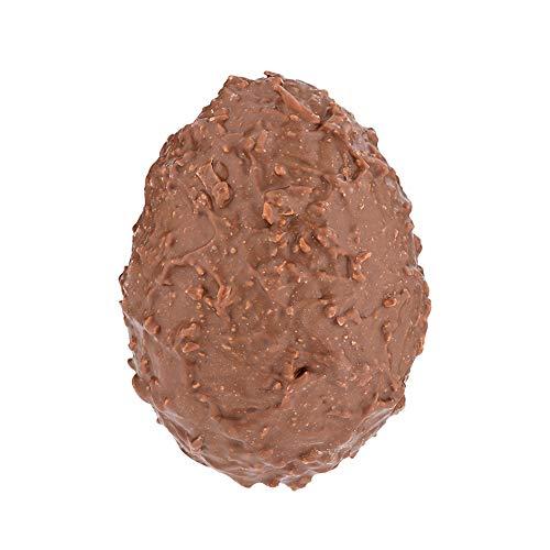 Chevaliers d'Argouges - Oeuf gourmand chocolat lait 33% aux brisures de crêpes dentelles - Chocolat de Pâques - 120g