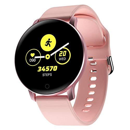 Fitness Smart Armband Monitor Sportuhr Bluetooth Smart wasserdichte Uhr Multifunktionale Sportarmbanduhr Pink