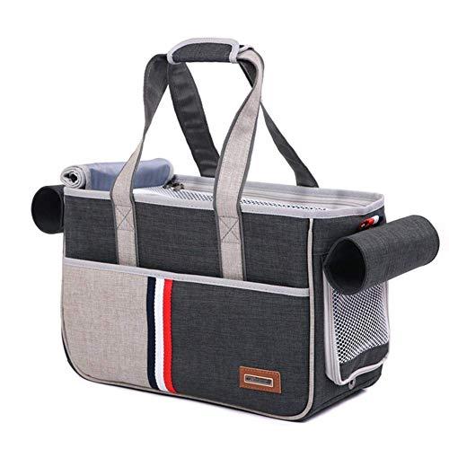 PETEMOO Haustier Transporttasche für Hunde & Katzen Komfort Transportbox Weiche Reisetasche für Haustiere Travel Trägerkäfig Carrier