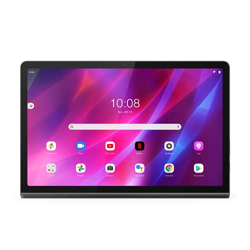 "Lenovo Yoga Tab 11 - Tablet de 11"" 2K (MediaTek Helio G90T, 4GB de RAM, 128GB UFS, WiFi + Bluetooth, Android 11, 4X Altavoces), Gris"