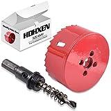 HOHXEN 80mm Hole Saw,M42 HSS Bi-Metal,Hole Opener Drill Bit Cutter Tool for Wood Aluminum Iron Sheet Pipe Plastic