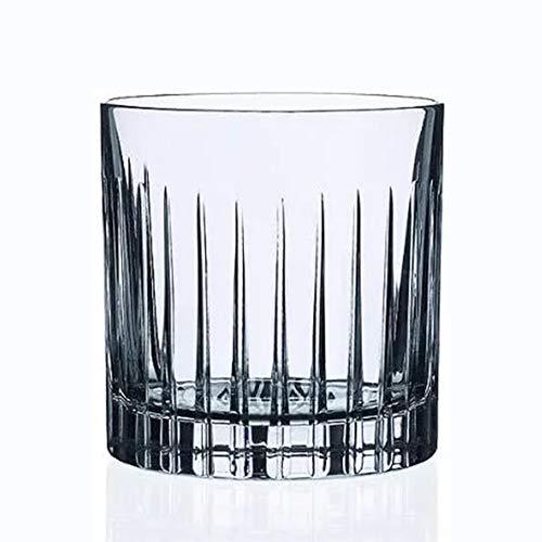 HHORB Vasos De Whisky, Vaso De Vidrio Transparente Sin Plomo, Vasos De Vaso Únicos Batidoras De Ron Vodka Gin