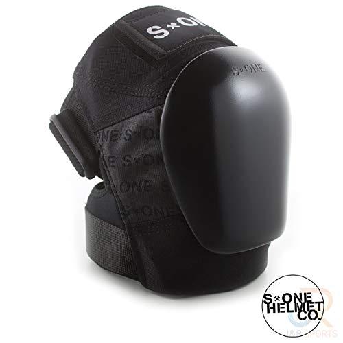 S1 Gen 3 Pro - Rodilleras, Color Negro y Negro