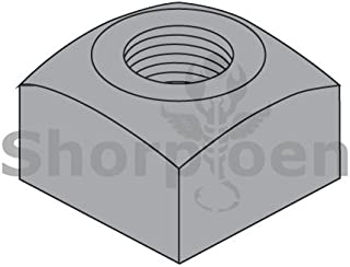Square Machine Screw Nut Zinc 5-40 BC-05NQ Box of 5000 Weight 10.55 Lbs