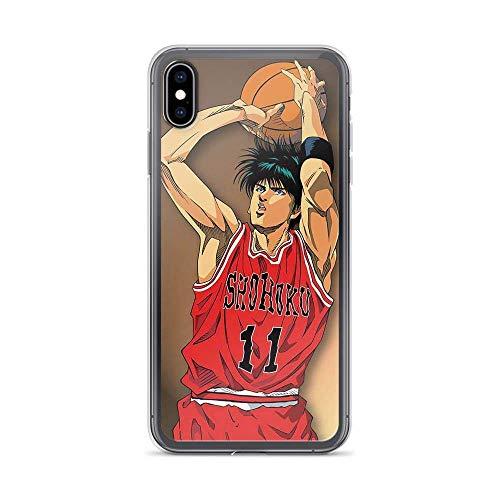 Compatible con iPhone 11 6/6s funda de baloncesto japonesa anime Slam Dunk Rukawa Player 11 Sport Manga Pure Clear Phone Cases Cover