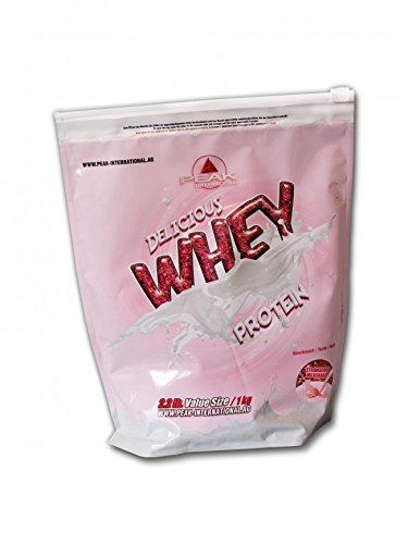 PEAK Delicious Whey Protein Strawberry Milkshake 1000g