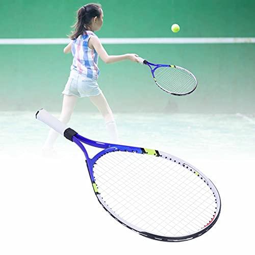 Regalo d'estate Semiter Racchetta da Tennis per Bambini, Racchetta da Tennis Racchetta da Tennis per Adulti per Lo Strumento di Allenamento Perfetto per Principianti per Risparmiare energia per Bambin