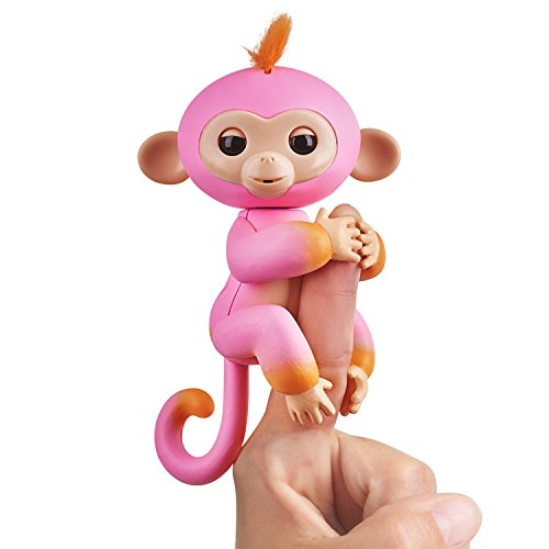 WowWee 3725 Finger lings aeffchen Summer, Pink/Orange