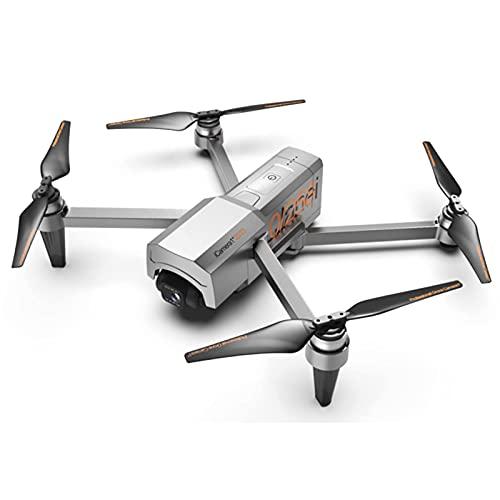FMHCTN Drone con Fotocamera EIS 4K per Adulti - 2 batterie - Quadricottero cardanico a 2 Assi con Trasmissione Video HD 5KM, Motore brushless Livello 7 Resistenza al Vento 60 Minuti di Volo