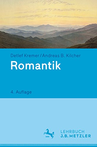 Romantik: Lehrbuch Germanistik