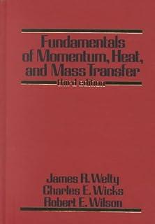 Fundamentals of Momentum, Heat and Mass Transfer