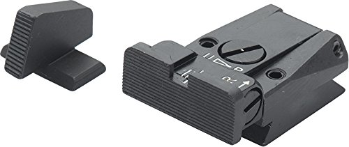 Sale!! FUSION H&K P7 Black Serrated Fully Adjustable Sight Set
