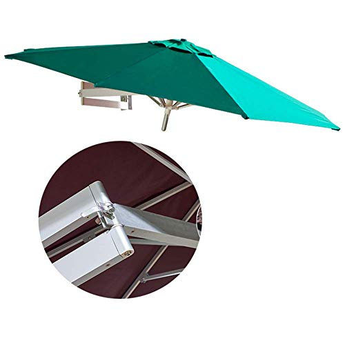SLRMKK Garten Sonnenschirm Regenschirm, Sonnenschirm, Regenschirm Parasol YGR Außenbalkon Sonnenschirm Innenhof Gartenbalkon Klappbarer Teleskop Sonnenschirm Baldachin