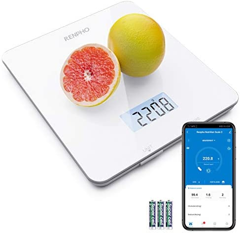 RENPHO Digital Food Scale Kitchen Scale for Baking Cooking and Coffee Scale with Nutritional product image