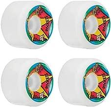 OJ Wheels Christian Hosoi Rocket White Re-Issue Skateboard Wheels - 61mm 97a (Set of 4)