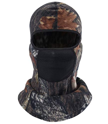 Balaclava Ski Mask Full Face Cover Windproof Hood for Cold Winter Weather Camo (M14)