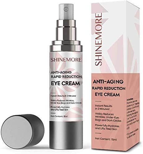 Anti Aging Rapid Reduction Eye Cream Instantly Reduces Dark Circles Wrinkles Puffiness Eye Bags product image