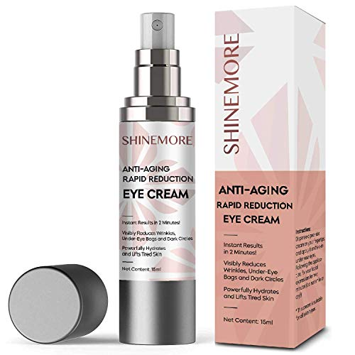 Anti-Aging Rapid Reduction Eye Cream, Instantly Reduces Dark Circles, Wrinkles, Puffiness, Eye Bags, Lifts & Hydrates Tired Skin in 2 Minutes!