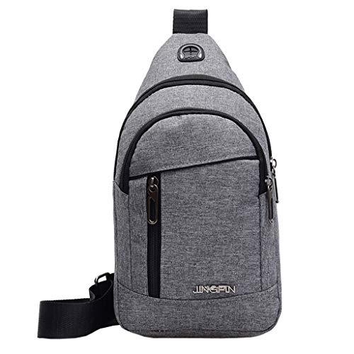 lmx+3f Fashion Mother's Day Totes Neutral Outdoor Sports Oxford Cloth Messenger Shoulder Bag Chest Bag Waist Bag Handbag