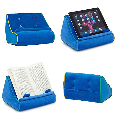 Book Couch iPad Stand, Tablet Stand and Book Holder, Reading Pillow...