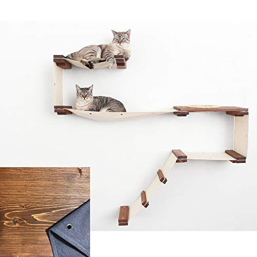 CatastrophiCreations Cat Mod Wall-Mounted Cat Tree