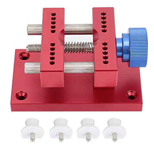 Soporte de caja de reloj Herramienta de soporte de caja de reloj de metal para mantenimiento de relojes con diseño simple