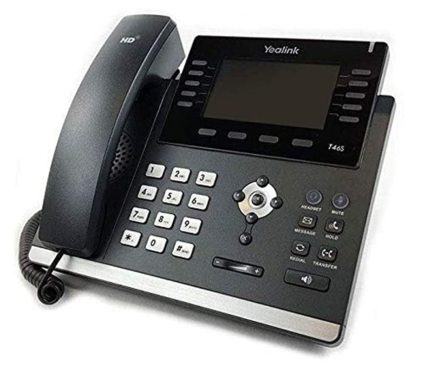Yealink SIP-T46S IP Phone (Power Supply Not Included) - New Open Box