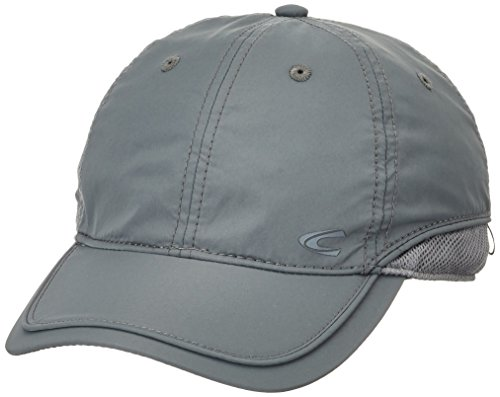 camel active Herren 406130 9C13 Baseball Cap, Grau (Grey 07), 100 (Herstellergröße: L)