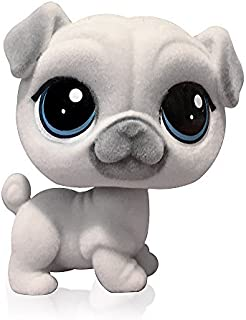 Littlest Pet Shop Pugson Fuzzypaws (Toys R Us) Exclusive LPS Dog Pug Toy #128