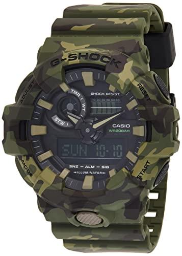 Casio G-Shock Analog-Digital Black Dial Men's Watch-GA-700CM-3ADR (G824)