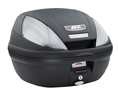 Topcase 39L GIVI E370 TECH schwarz Monolock