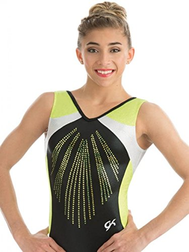 GK ELITE 3755 – Black Pearl Leotard, Leotard