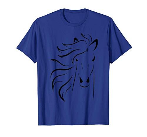Libertad sin freno caballo Camiseta
