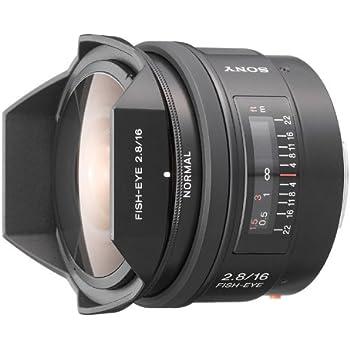 ソニー SONY 16mm F2.8 Fisheye SAL16F28