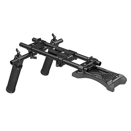 SMALLRIG Kit de Shoulder Básico Universal para Cámara para DSLR, sin Espejo y Shoulder Rig para Cámara Pequeña - 2896