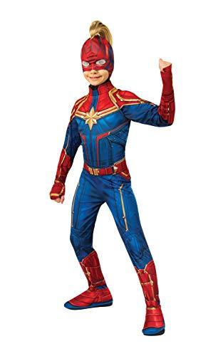 Rubies Máscara oficial del Capitán Marvel con Mohawk, accesorio de disfraz para niños, talla única