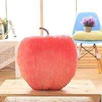50Cmぬいぐるみシミュレーションフルーツ枕-赤Fuji_50Cm
