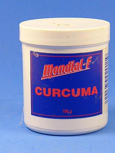 Mondial-F Curcuma, Ingwer, 100g, Pulver, Futter und Lockstoff