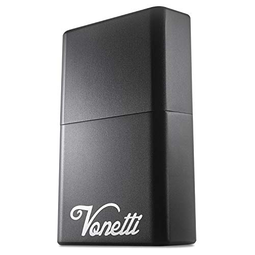 VONETTI Alpha Shield Premium Keyless Go - Caja de aluminio para llave de coche, Funda Faraday Movil, Bolsa Faraday Movil, Jaula Faraday Movil, Bloqueador de Señal RFID/NFC/GPS/WIFI