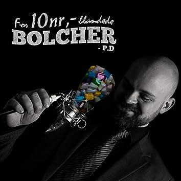 For 10nr,- Blandede Bolcher